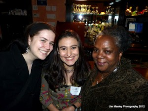 Elana Mudgen, Tracy Costa, and Shirley Faison